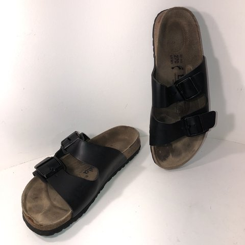 f1cc6e6a6d1b Betula by Birkenstock black double strap sandals. In great 9 - Depop