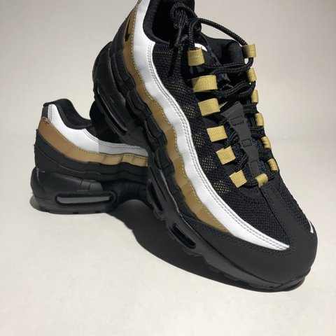 ddd62acaae @aw_vinta_ge. last month. United States. Nike Air Max 95 OG AT2865-002 Black /Metallic Gold ...