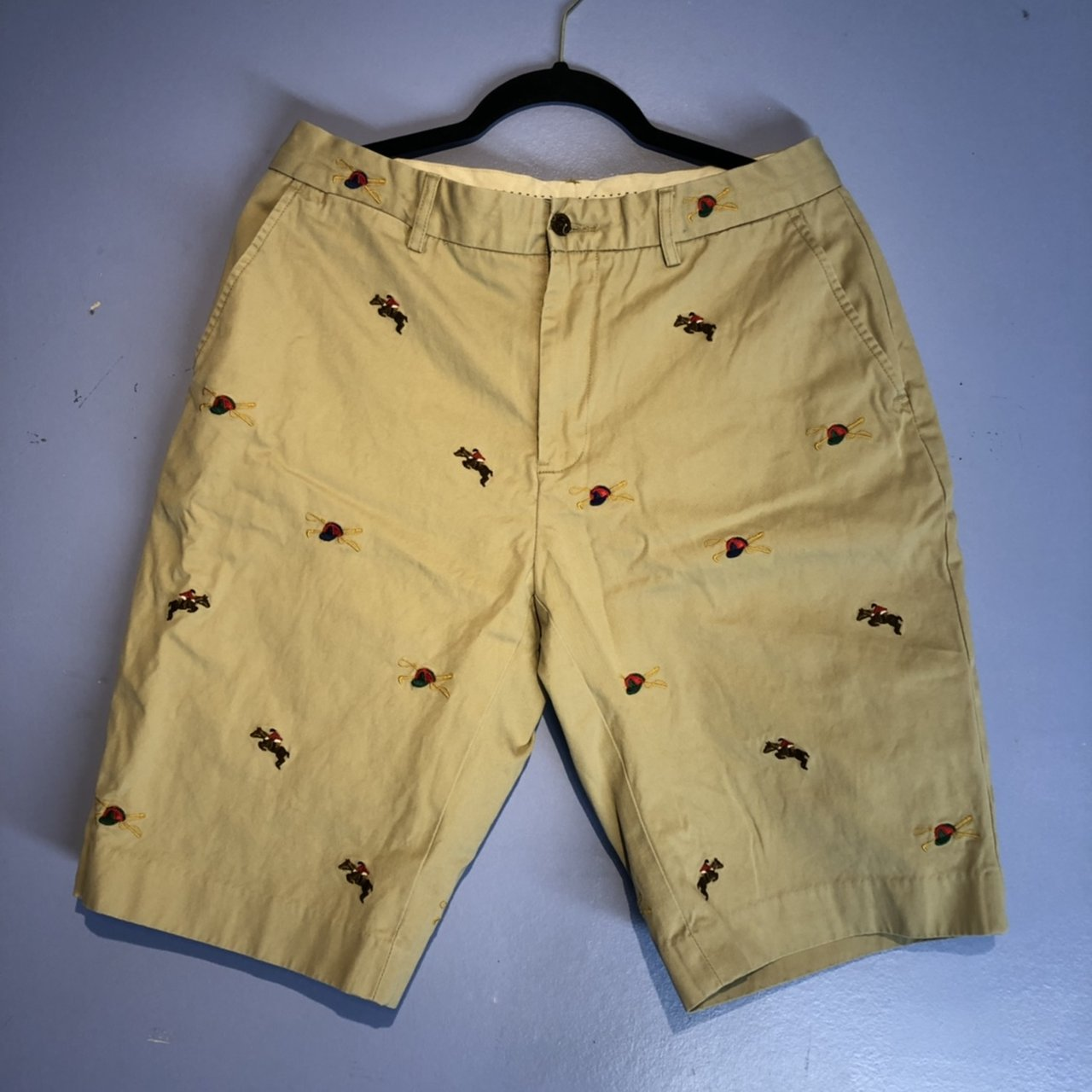 5ea25357f0 discount polo shorts with horses all over them b75e6 5472a