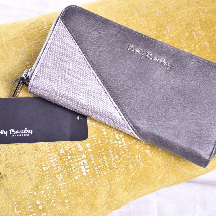 Betty Barclay Purse  Cute  Silver Grey Purse, Brand    - Depop