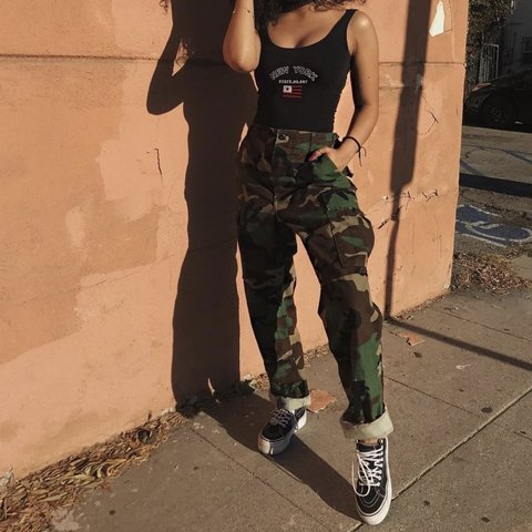 f52c008bf6e17 @nojuicejenny. 4 months ago. Thomasville, United States. Rothco Camo  Vintage Fatigue Pants