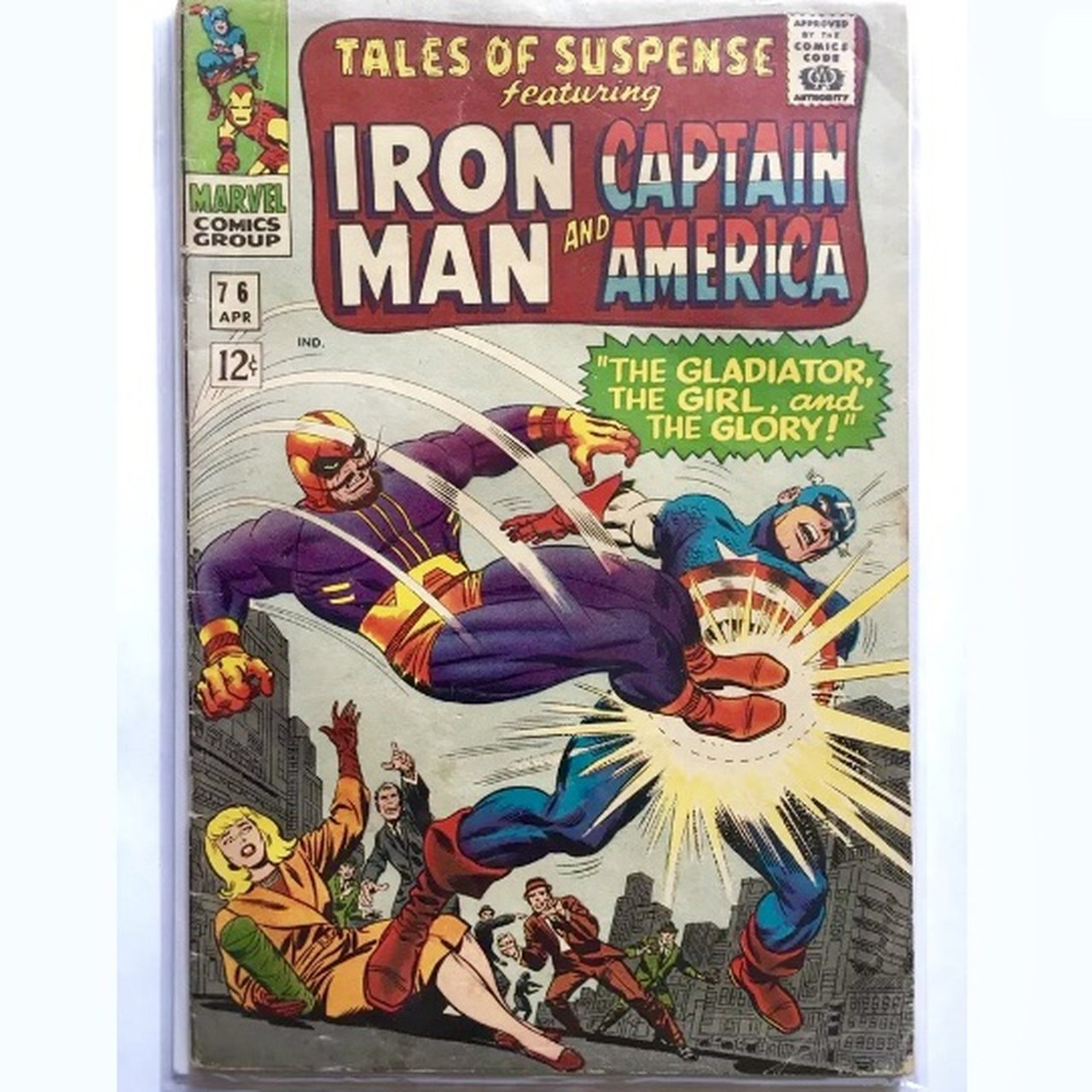 Tales of Suspense Iron Man and Captain America #76    - Depop