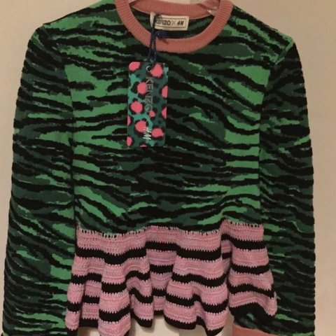 cc6a9240d524 H & M x Kenzo Jumper - Brand new with tags. RRP £59.99, size - Depop
