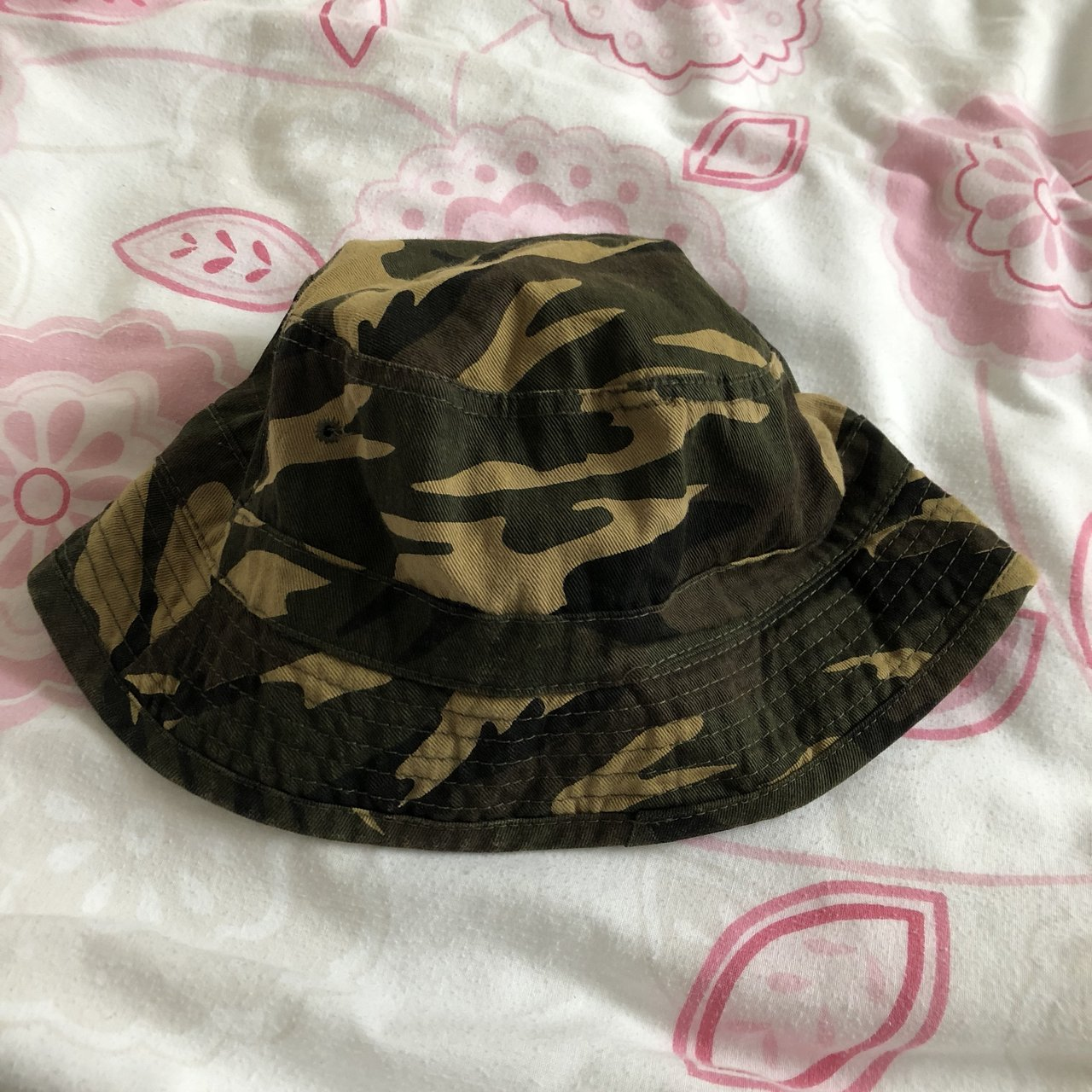 Camp bucket hat Small size best for average size head lol - Depop 091bc47825c