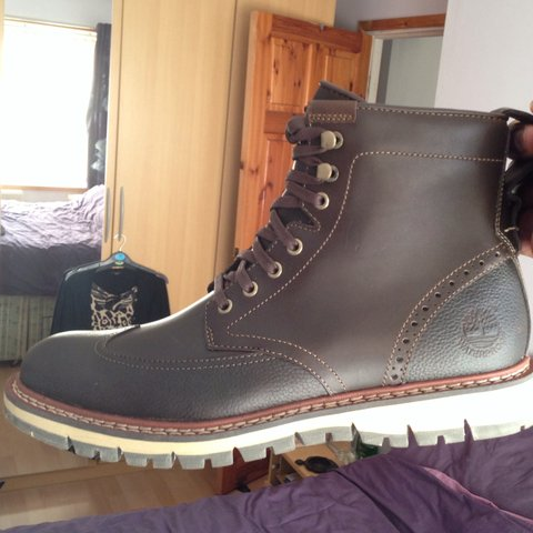 66f48fae60d6 Timberland brogue style smart boots. Brand new! £150 in for - Depop
