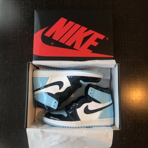 2e7583c24e9 @sneakerheadsx. 4 months ago. London, United Kingdom. Nike Air Jordan 1  Retro High OG UNC Patent ...