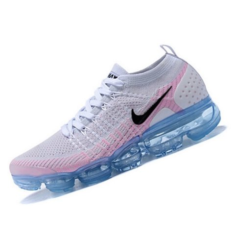 03e567d404c9 Nike VaporMax FlyKnit Pink And Blue Perfect To Wear When Is - Depop