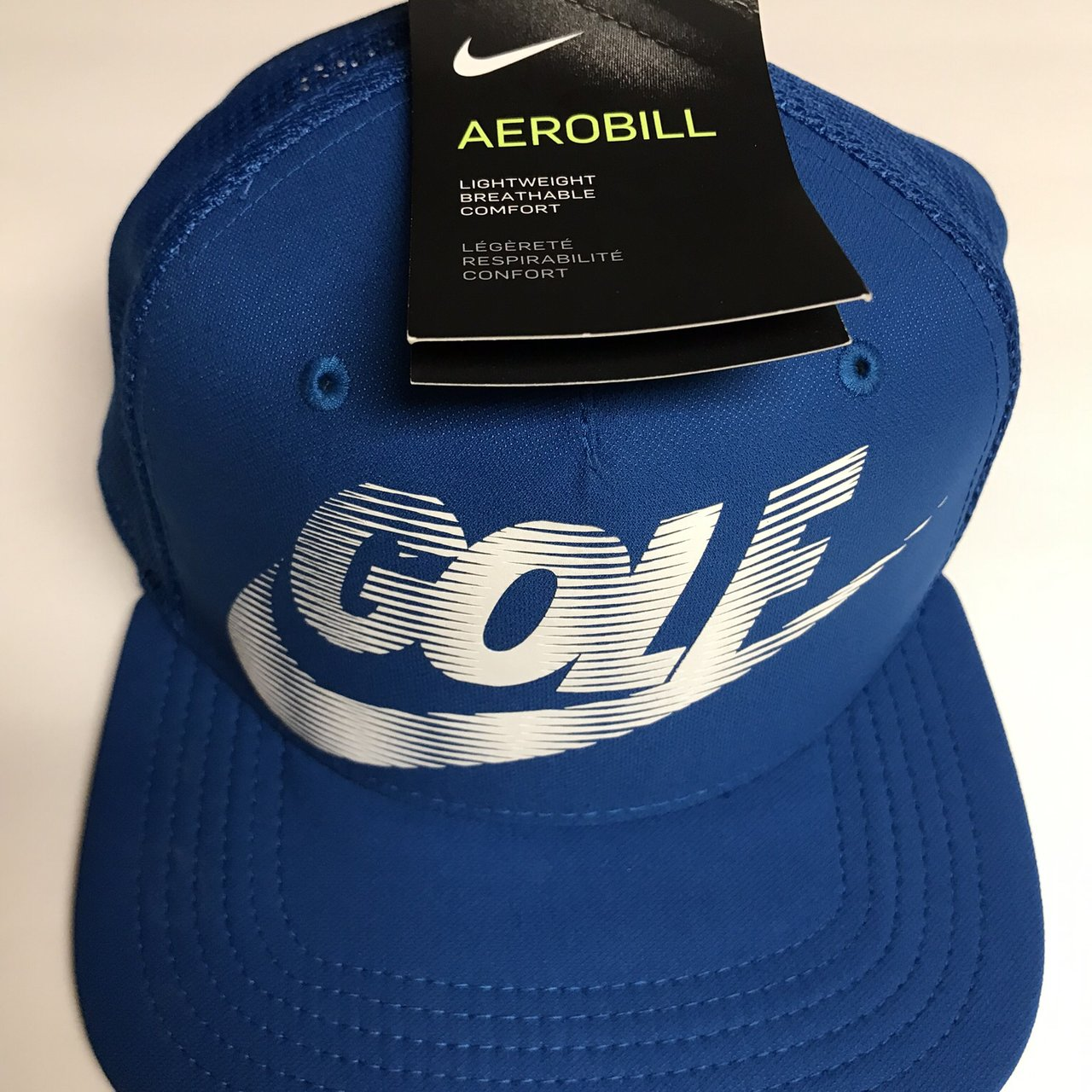 b97ac2430dc Blue Nike Golf Hat. Brand New - Depop