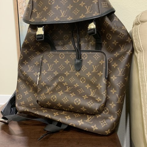 1340552870d8 Authentic Louis Vuitton Zack backpack with proof of at LV. - Depop