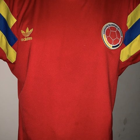 745d6c3947f 1990** WORLD CUP Adidas Colombian National Soccer Team $30 - Depop