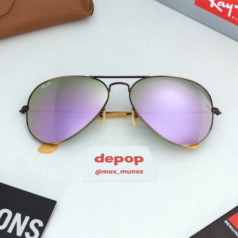 dc7472f397aa9 Ray-Ban ® RB3025 167 4K Aviator Flash Lenses ✓ Brand New   - Depop
