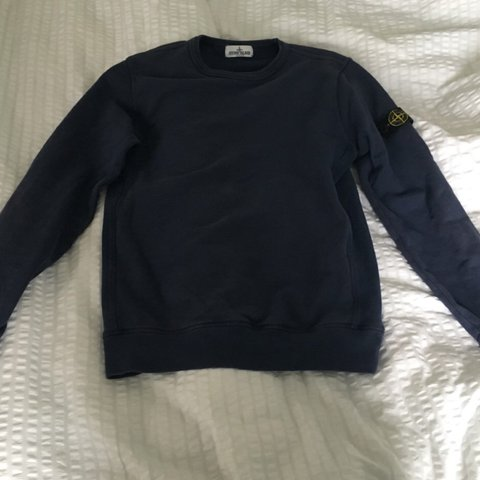 Stone island jumper junior age 14-15 ( will fit size 6-10 a - Depop 6fef63cbb