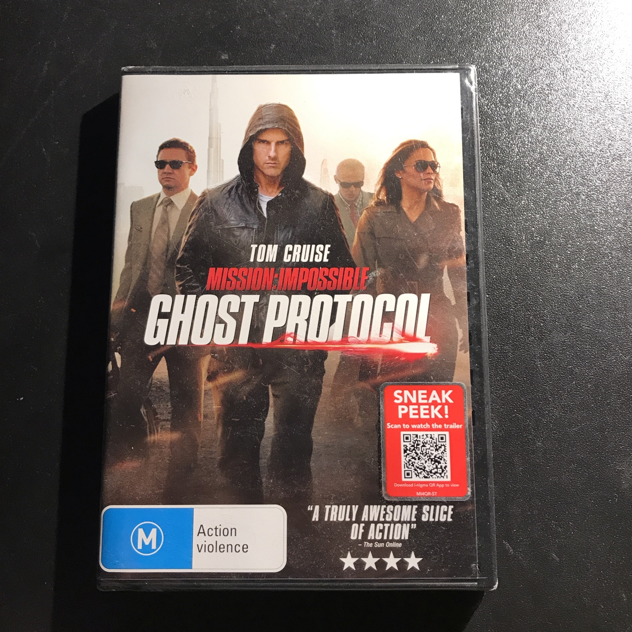 Mission Impossible Ghost Protocol 2011 Dvd Brand Depop