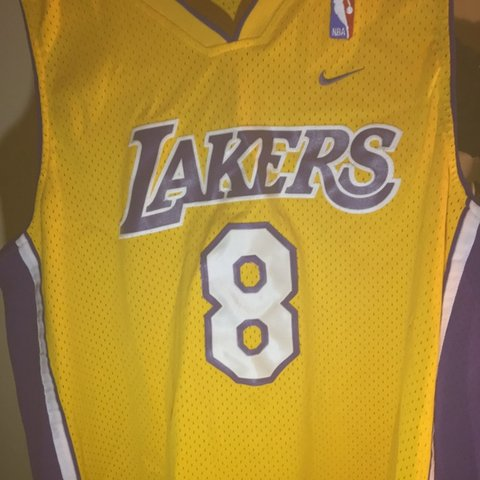 7247a8511 Kobe Bryant  8 Los Angeles Lakers Nike Vintage Basketball No - Depop