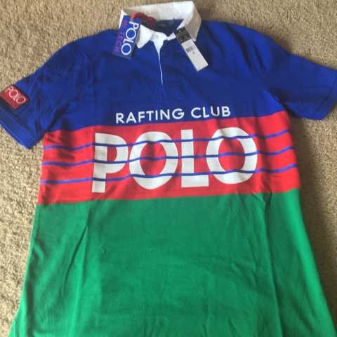 3375edfb57e @for_the_lo. yesterday. Pittsburgh, United States. Polo Ralph Lauren Hi  Tech Polo Rafting Club