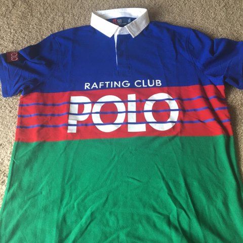 398e60d10da @for_the_lo. in 11 hours. Pittsburgh, United States. Polo Ralph Lauren Hi  Tech Polo Rafting Club polo shirt.