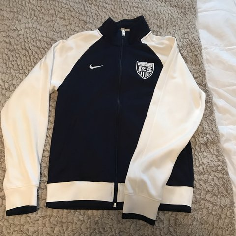 d53358531 @bribri1013. 4 months ago. Phoenix, United States. Never worn Nike USA  soccer jacket. Always loved it but ...