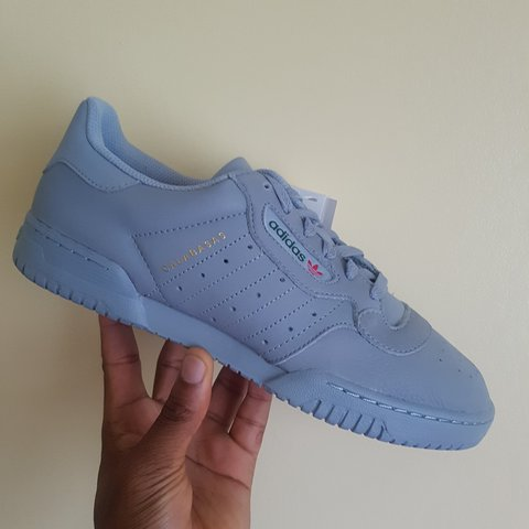 66201181224 Adidas Yeezy Powerphase Calabasas Grey UK 8 US 8.5 EU - - Depop
