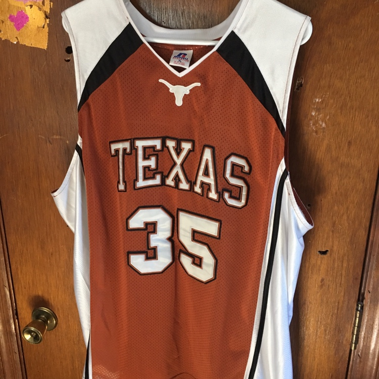 cheap for discount 604e6 29242 Kevin Durant Texas Longhorns Basketball Jersey Size:... - Depop