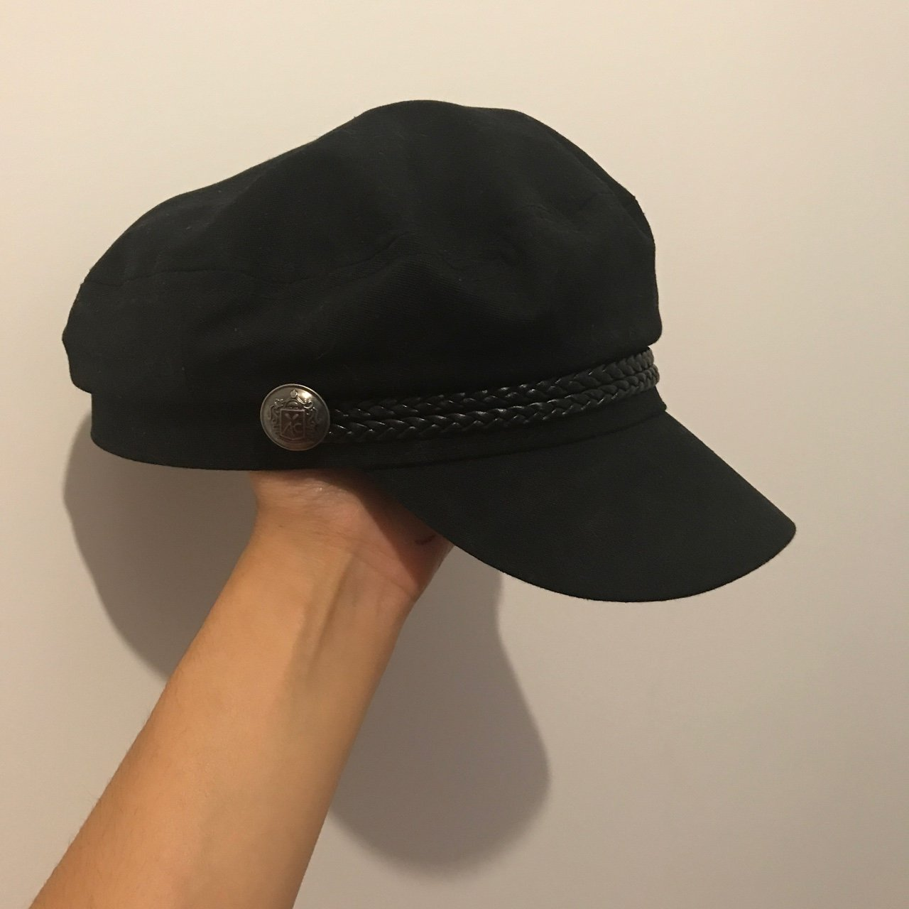 Baker Boy Hat bought from H M and only worn a few times. In - Depop d7e8e4a4583