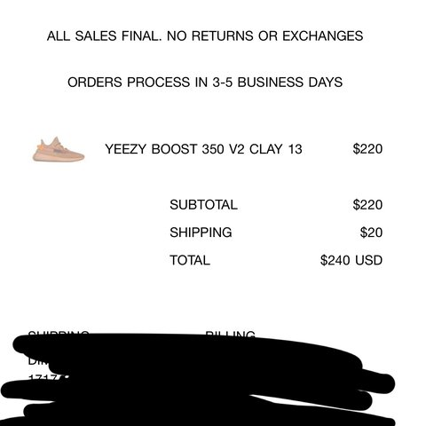 ced2b97a5418a YEEZY 350 V2 CLAY ( SIZE 13) PURCHASED FROM YEEZY SUPPLY . - Depop