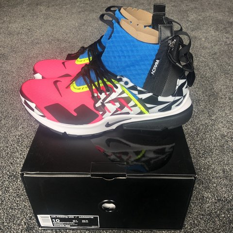 online store 69cd5 15189  resellgang. FollowingFollow. 8 days ago. London, United Kingdom. Nike Air  Presto Mid x Acronym ...