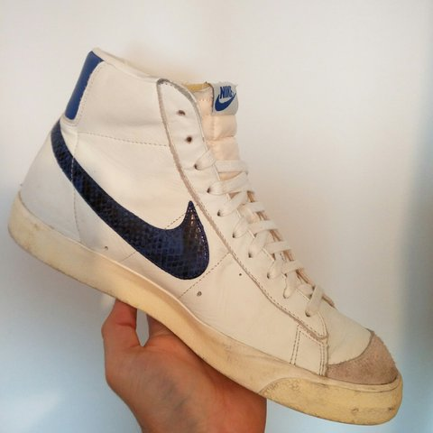 low priced 15507 cbe43 promo code nike blazers mid 77 premium vintage year of the snake depop  4373c b2d9c