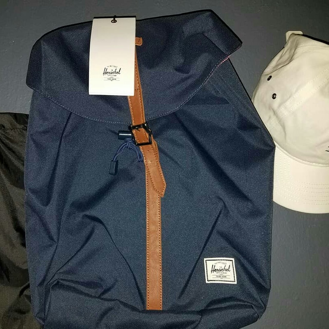 18c9842c521b BRAND NEW Navy Blue Herschel backpack 》PM for  herschel - Depop