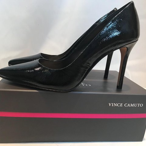 ec44fbc8e5d3 Patent leather Vince Camuto court shoes  brandnew  neverworn - Depop
