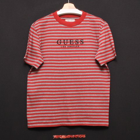 f085aa8d88 @theprelovedhypestore. 9 days ago. United Kingdom, GB. Deadstock Guess  Oversized Striped Tshirt ...