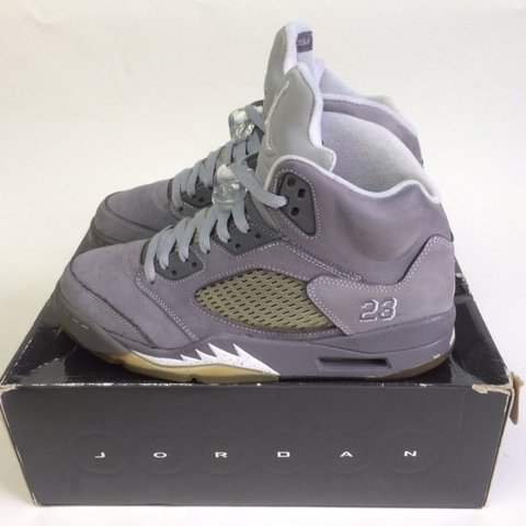 5b98e0535f8 @j4s3air. 6 months ago. Bristol, United Kingdom. Nike Air Jordan 5 Retro 'Wolf  Grey' 2011 release
