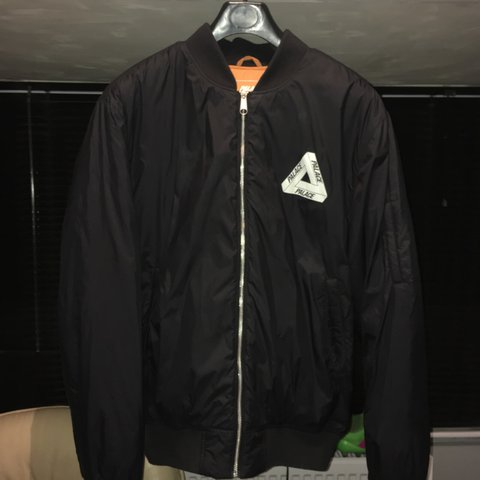 bb41de67281d Palace thinsulate bomber jacket Black In-store only 1 of a - Depop