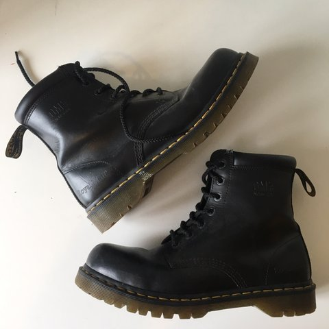 7b06bffd0c3 @wellowelllo. 4 months ago. London, United Kingdom. Dr. Martens Industrial Royal  Mail Boots