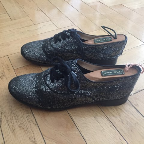 6d8ce5525d7 Amazing Christian Louboutin glitter lace up flats. In the of - Depop