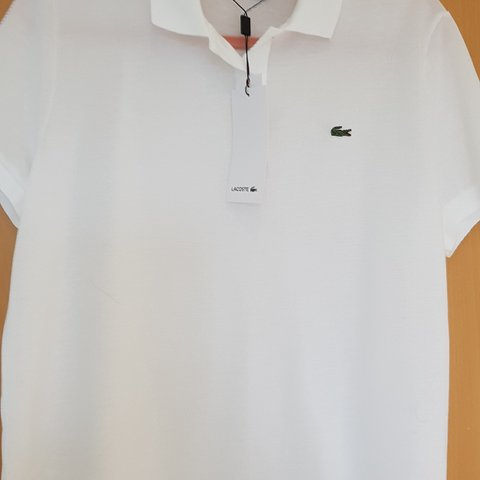 7669a01e @lockey14. 3 months ago. Armthorpe, Armthorpe, GB. Genuine womens Lacoste  polo shirt. New with tags. Cost £80 ...