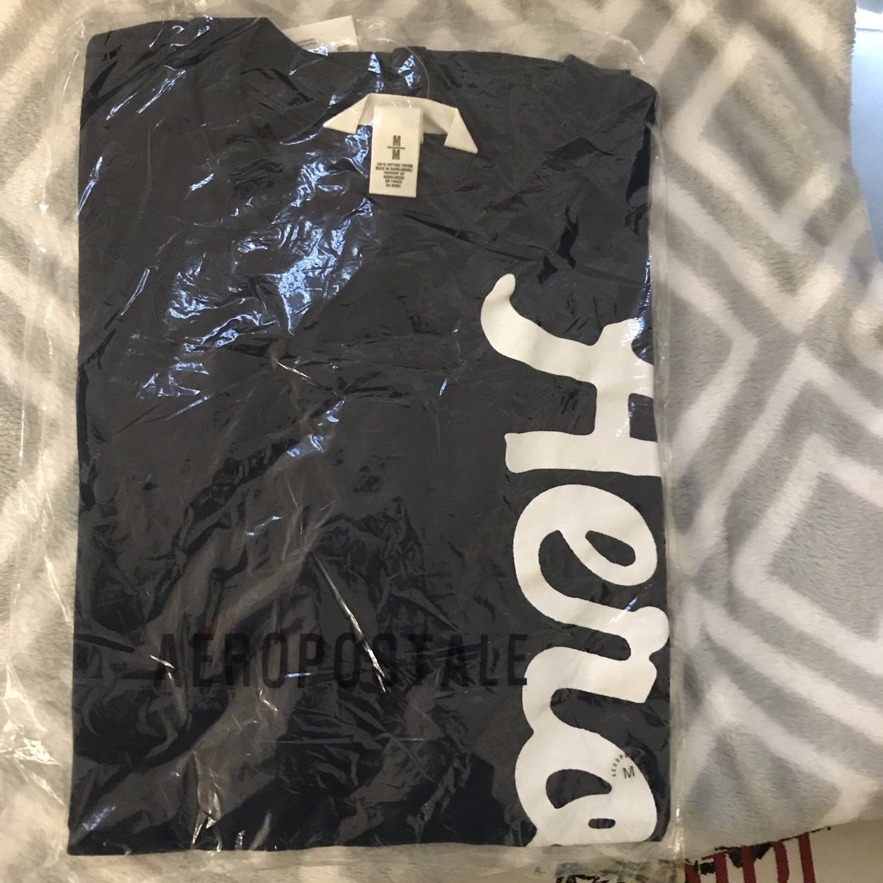 e1eb3cd1 @artsnkids. 6 days ago. Parkland, United States. Medium nwt men's T-shirt  navy blue Aeropostale Never worn new with tags