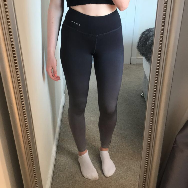 buy cheap on sale online hoard as a rare commodity Black Ombré Matalan Sports leggings. (Soluxe) Hardly ...