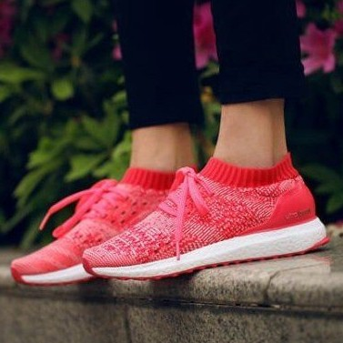 Adidas Ultra Boost Uncaged Primeknit Ray Red womens