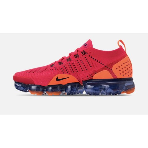 eb93e85ffcb04 Nike Air VaporMax Flyknit 2 Spiderman Running Red Orbit Size - Depop
