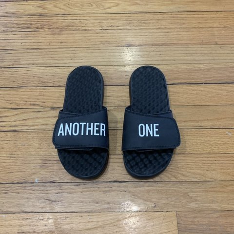 """a79a3f639109 DJ Khaled """"Another One"""" slides!!! Never wore! They were too - Depop"""