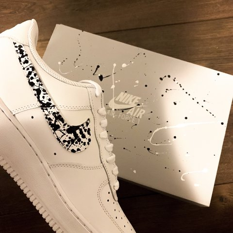 Nike Air Force 1 in White Low style Pretty beat up Depop
