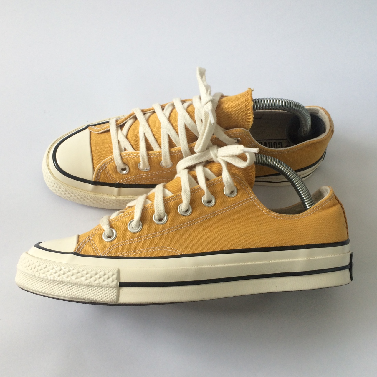Converse 70 Sunflower Low Trainers. UK Size. Worn a
