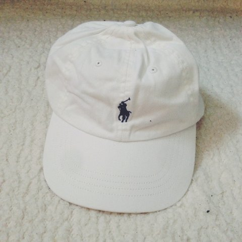 b27c8b15 New authentic Ralph Lauren hat white - I HAVE LOADS! Either - Depop