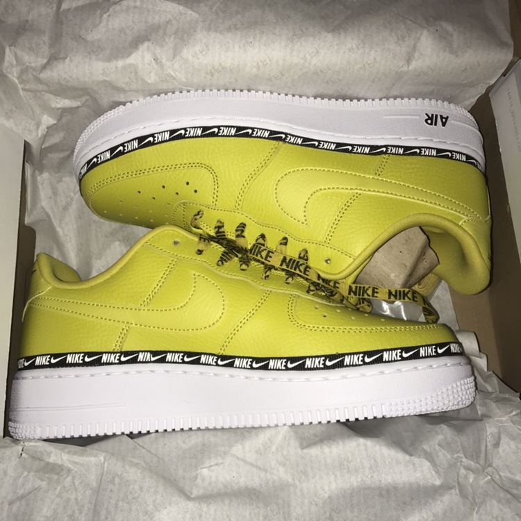 Citrus Women's Air Force 1 Brand New With Box by Depop