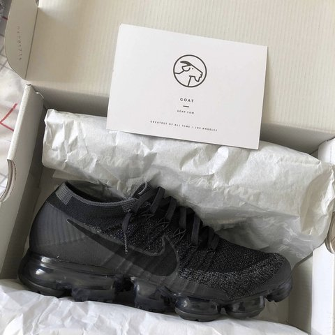 bba010bc4 Nike VaporMax Triple Black (1.0) NEXT DAY SHIPPING for more - Depop