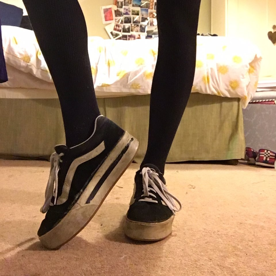 vans on the hill