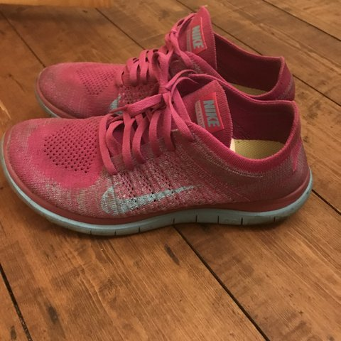 new product 19423 0628d  oceanr. 6 months ago. Manchester, United Kingdom. Blue pink nike free run  4.0 ...