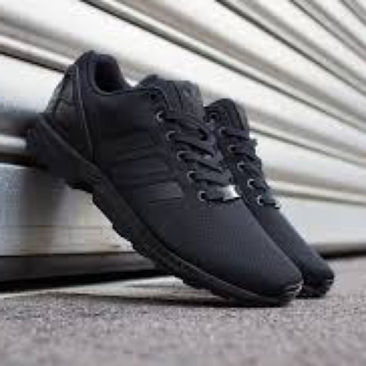 buy popular 20ad9 4dc1b Adidas ZX Flux all black size uk 5 Very good... - Depop