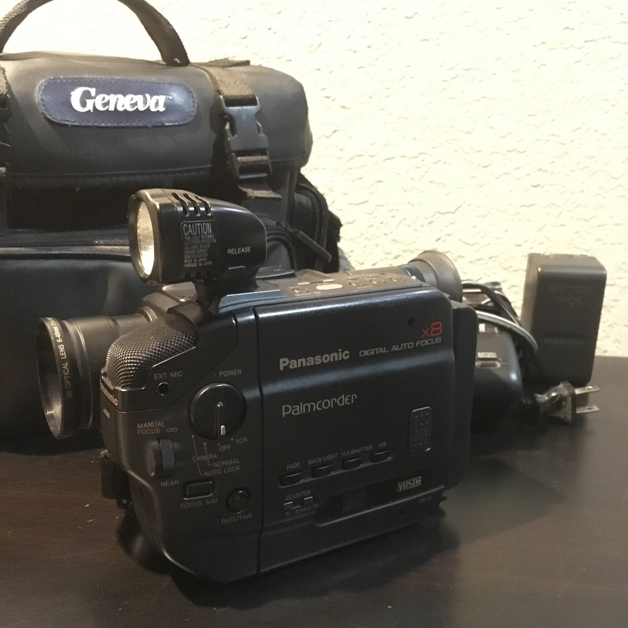 Vintage Panasonic Vhs C Camcorder The Camcorder And Depop