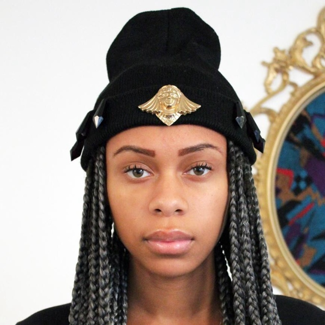 Image result for brooch to beanie